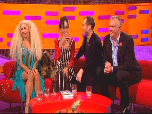 Lady Gaga on 'The Graham Norton Show' []