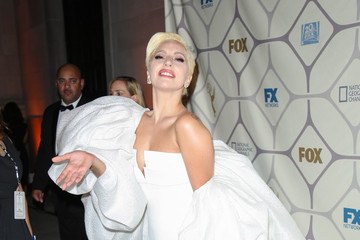 Lady Gaga Celebrities Attend the 67th Primetime Emmy Awards Fox After Party