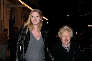 Lara Stone Press Night at the Noel Coward Theatre