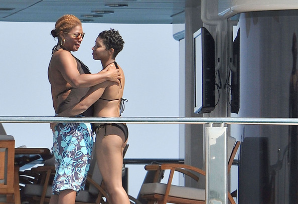 who is queen latifah dating2
