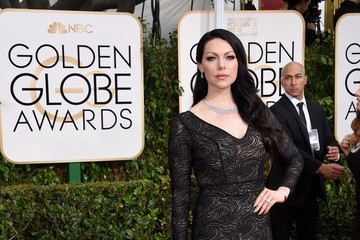 Laura Prepon Arrivals at the Golden Globe Awards