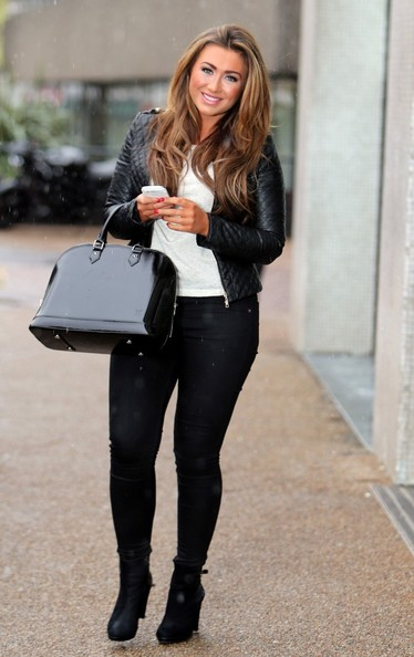 January 2013. TOWIE cast member Lauren Goodger seen at the the London