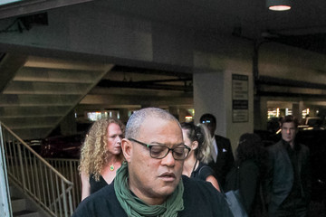 Laurence Fishburne Laurence Fishburne Outside ArcLight Theatre In Los Angeles