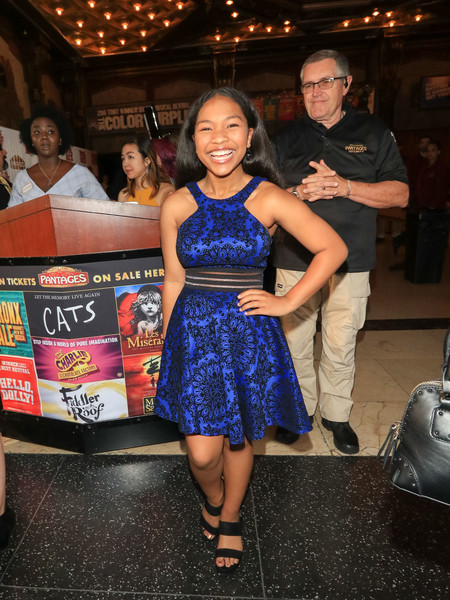 Laya DeLeon Hayes Attends Premiere Of 'School Of Rock' The Musical At The Pantages Theatre []