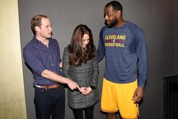 LeBron James LeBron James Hangs with British Royals
