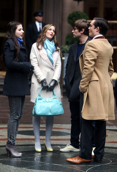Leighton Meester - Gossip is stopped by the cops