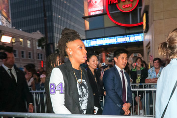 Lena Waithe Lena Waithe Outside 'Ready Player One' Premiere At Dolby Theatre In Hollywood