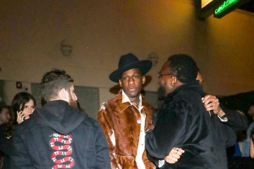 Leon Bridges Leon Bridges outside Delilah Nightclub in West Hollywood