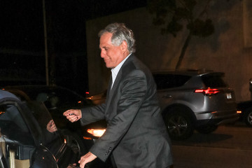 Leslie Moonves Leslie Moonves At Craig's Restaurant In West Hollywood