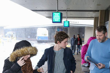 Levi Miller Celebrities Are Seen at Salt Lake City Airport