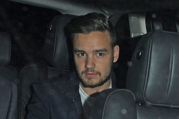 Liam Payne One Direction Leaves Their Hotel