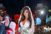 Yasmine Petty is seen attending Lifeball Life Ball The Opening Ceremony at Town Hall Square of Vienna.