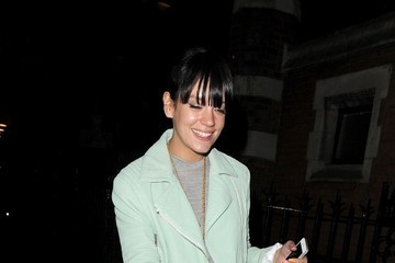 Lilly Allen Lilly Allen at Chiltern Firehouse