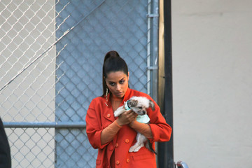 Lilly Singh Lilly Singh At 'Jimmy Kimmel Live'