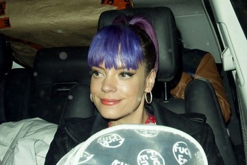 Lily Allen Celebs at Annabel's