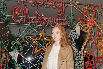 Lily Cole Stella McCartney's Annual Christmas Lights Party