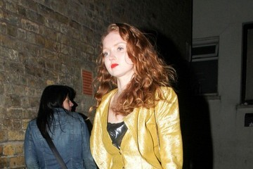 Lily Cole Celebs Spotted at Chiltern Firehouse