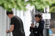 Lily Allen and Nick Grimshaw Photos Photo