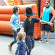 Linda Perry and Rhodes Perry