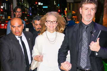 Lindsay Wagner Lindsay Wagner Outside Hollywood Museum In Hollywood