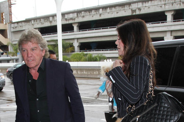 Lisa Vanderpump Lisa Vanderpump and Ken Todd Are Seen at LAX