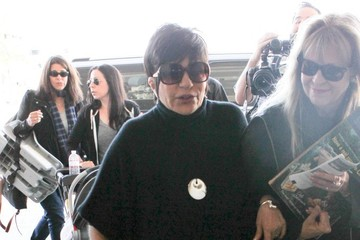 Liza Minnelli Liza Minnelli Arrives at LAX