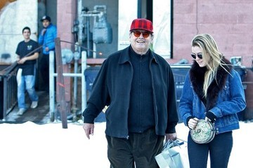 Lorraine Nicholson Jack Nicholson and Daughter Out Shopping