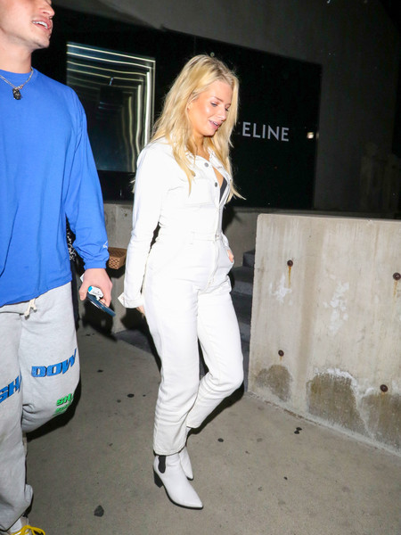 Lottie Moss Is Seen Outside Gracias Madres In West Hollywood