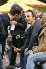 Dax Shepard Stars on the Set of 'When in Rome'