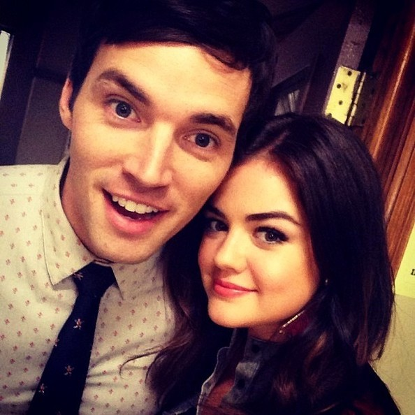 Lucy Hale Ian Harding Photos - Celebrity Social Media Pics ...