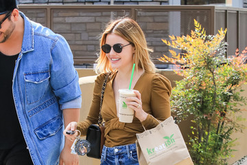 Lucy Hale Lucy Hale In Los Angeles