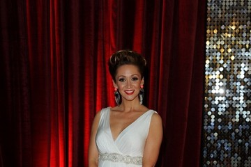 Lucy Jo Hudson Arrivals at the British Soap Awards