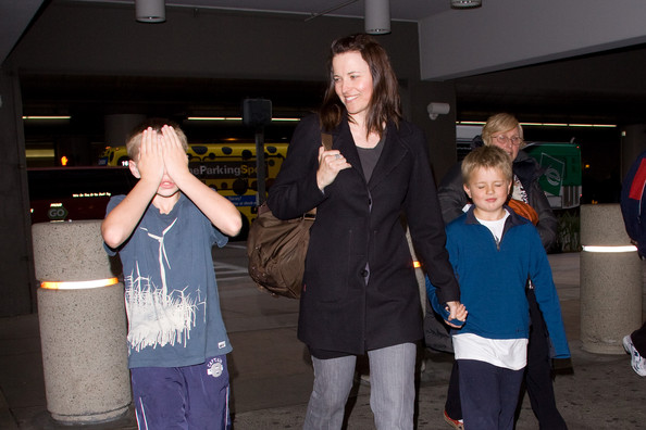 Photo of Lucy Lawless & her Son   Judah Miro Tapert