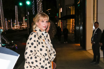 Lucy Punch Lucy Punch Outside Valentino In Beverly Hills