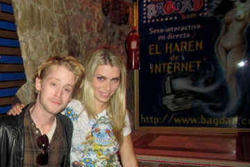 Irene Lopez Macauley Culkin and Irene Lopez at Bagdad Adult Club
