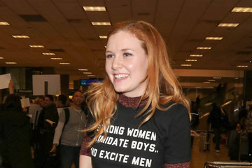 Madisen Beaty Celebtrities at SLC Airport for the Sundance Film Festival