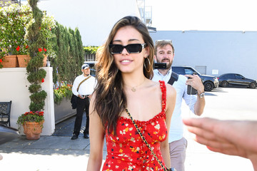 Madison Beer Madison Beer And Boyfriend Zack Bia Out And About