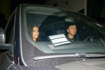 Madison Beer Madison Beer And Zach Bia Outside Poppy Nightclub In West Hollywood