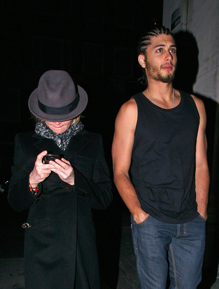 Madonna in Mayfair with Jesus Luz