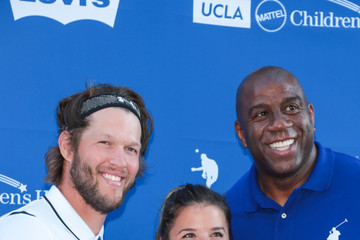 Magic Johnson Clayton Kershaw's 5th Annual Ping Pong 4 Purpose Celebrity Tournament