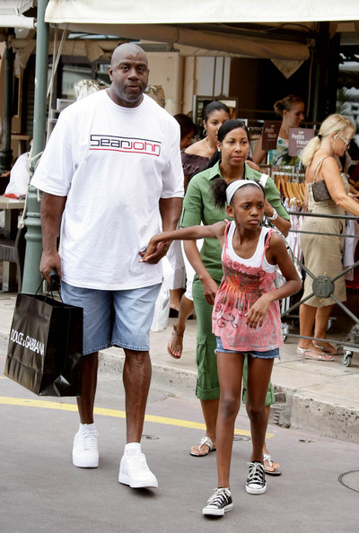 magic johnson grandchildren - photo #18