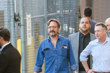 Marc Maron Marc Maron Appears on 'Jimmy Kimmel Live'