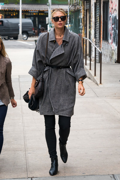 Maria Sharapova Strolls in NY