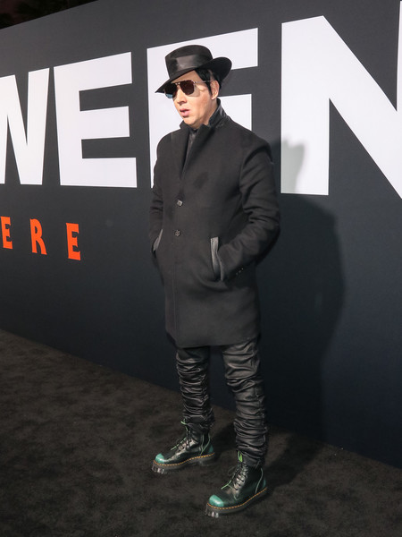 Marilyn Manson Photos Premiere Of Universal Pictures Halloween