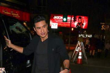 Mario Lopez Celebrity Sightings Outside the 'Beauty and The Beast' Premiere at El Capitan Theatre