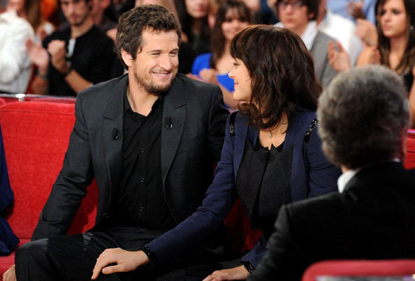 Guillaume Canet Wife Guillame Canet at a Taping