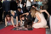Mariska Margitay honored with star on the Hollywood Walk of Fame. Hollywood, CA..November 8, 2013..Job: 131108A1..(Photo by Axelle Woussen/Bauer-Griffin)..Pictured: Kate Flannery, Maria Bello, Blair Underwood, Debra Messing, Mariska Hargitay, Danny Pino and Hilary Swank.