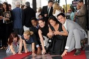 Mariska Margitay honored with star on the Hollywood Walk of Fame. Hollywood, CA..November 8, 2013..Job: 131108A1..(Photo by Axelle Woussen/Bauer-Griffin)..Pictured: Kate Flannery, Maria Bello, Blair Underwood, Debra Messing, Mariska Hargitay and Danny Pino.