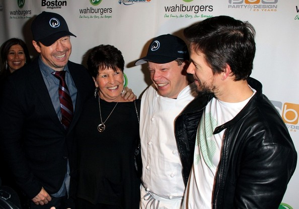 Donnie wahlberg and mark wahlberg the wahlberg brothers open a