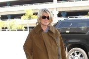 Martha Stewart Arrives at LAX